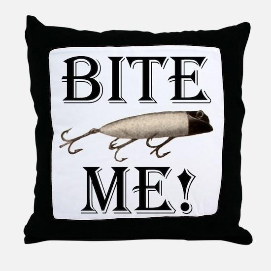 BITE ME! Throw Pillow
