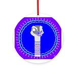 Ostrich Ornament (Round)