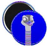 "Ostrich 2.25"" Magnet (10 pack)"