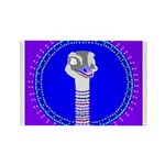 Ostrich Rectangle Magnet (100 pack)