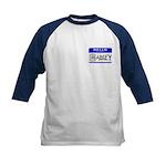 Hello, my name is Abbey Kids Baseball Jersey