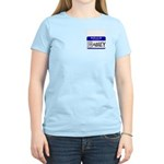 Hello, my name is Abbey Women's Pink T-Shirt