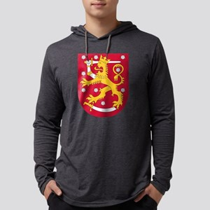 Coat of Arms of Finland - Suom Long Sleeve T-Shirt
