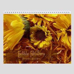 Edible Flowers Wall Calendar