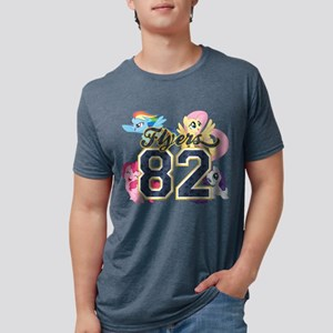 My Little Pony Flyers 82 Mens Tri-blend T-Shirt