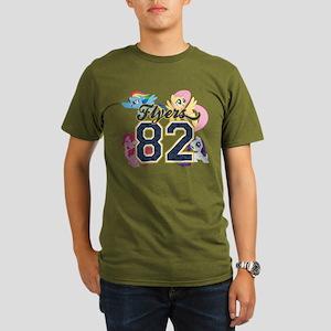 My Little Pony Flyers Organic Men's T-Shirt (dark)