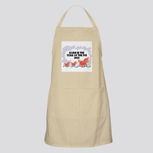 1959 Year Of The Pig BBQ Apron