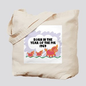 1959 Year Of The Pig Tote Bag