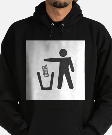 """Anti-Cell Phone - """"Pitch In"""" Sweatshirt"""
