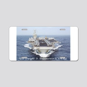 USS Dwight D. Eisenhower (CVN69) Aluminum License