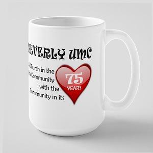 Cheverly UMC 75 Heart Mugs