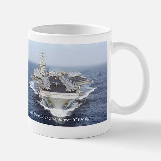 Uss Dwight D. Eisenhower (cvn69) Mugs