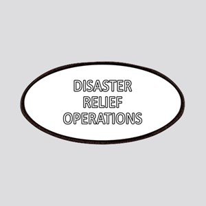 Disaster Relief Operations - White Patches