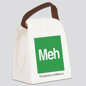 Meh The Element of Indifference Canvas Lunch Bag