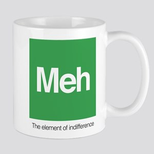 Meh The Element of Indifference 11 oz Ceramic Mug