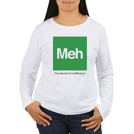 Meh The Element of Ind Women's Long Sleeve T-Shirt