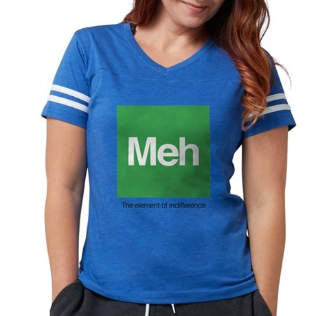 Meh The Element of Indiffere Womens Football Shirt