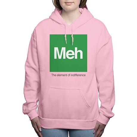 Meh The Element of Indif Women's Hooded Sweatshirt
