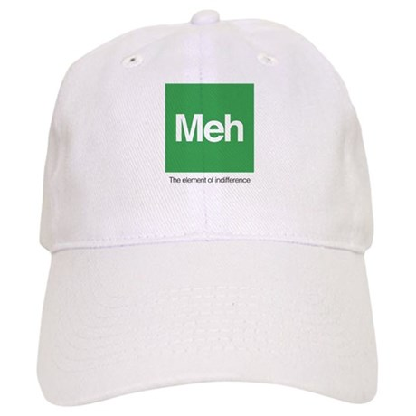 Meh The Element of Indifference Cap