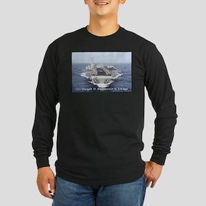 USS Dwight D. Eisenhower (CVN69) Long Sleeve T-Shi