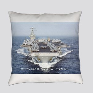 Uss Dwight D. Eisenhower (cvn69) Everyday Pillow