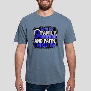 Colon Cancer Survivor FamilyFriendsF T-Shirt