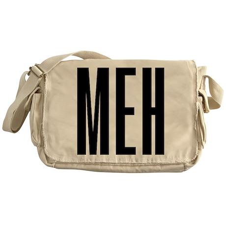 Meh Messenger Bag
