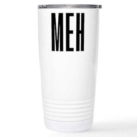 Meh 16 oz Stainless Steel Travel Mug