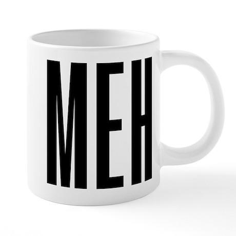 Meh 20 oz Ceramic Mega Mug
