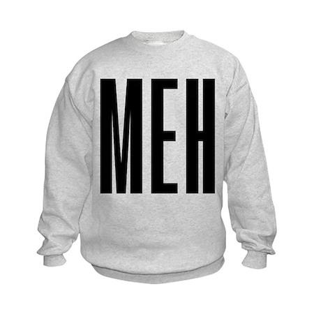 Meh Kids Sweatshirt