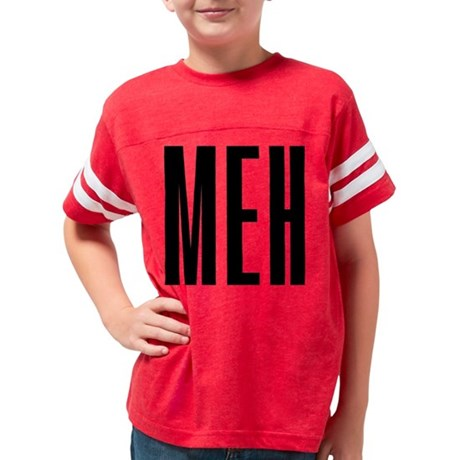 Meh Youth Football Shirt
