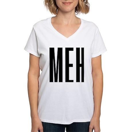 Meh Women's V-Neck T-Shirt