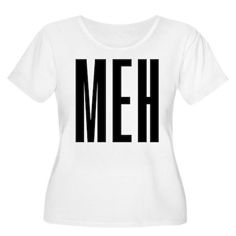 Meh Women's Plus Size Scoop Neck T-Shirt