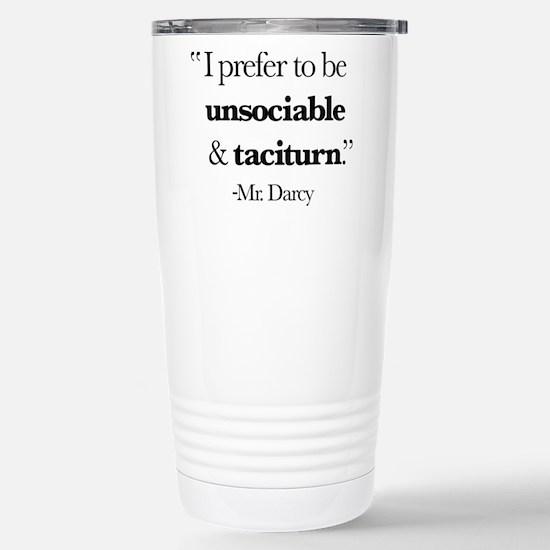 Mr Darcy I Prefer Travel Mug