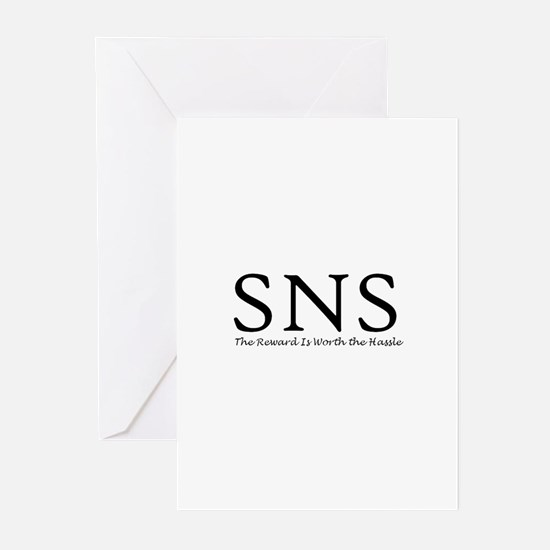 SNS Greeting Cards (Pk of 10)