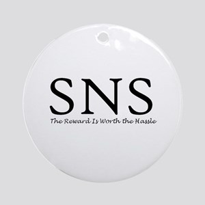 SNS Ornament (Round)