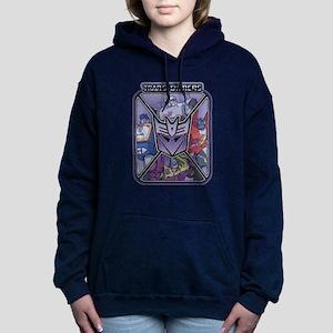 Transformers Decepticons Women's Hooded Sweatshirt