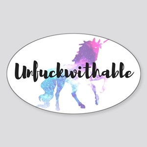 Unfuckwithable Sticker