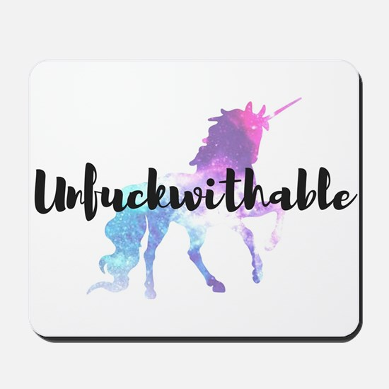 Unfuckwithable Mousepad