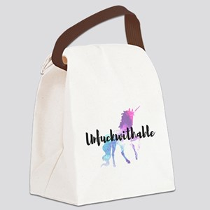 Unfuckwithable Canvas Lunch Bag