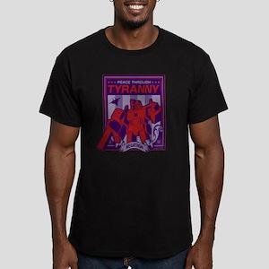 Transformers Tyranny Men's Fitted T-Shirt (dark)