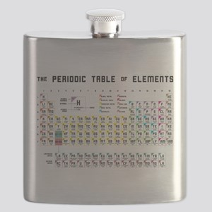 The Periodic Table of Elements Flask