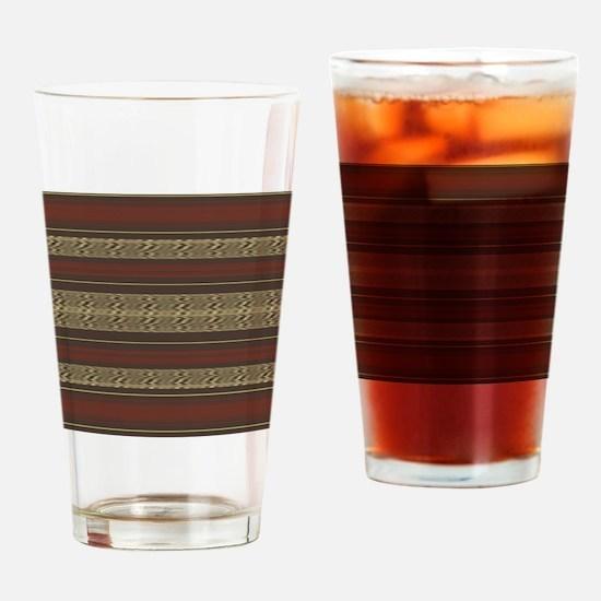 Cute Striped Drinking Glass