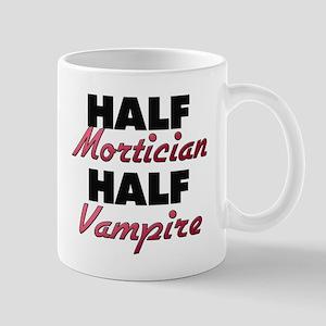 Half Mortician Half Vampire Mugs