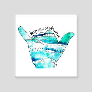 KTSA Shaka Wave Sticker