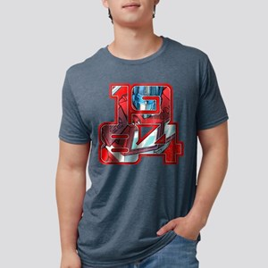 Transformers Optimus Prime Mens Tri-blend T-Shirt