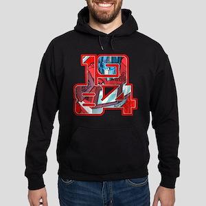 Transformers Optimus Prime 1984 Hoodie (dark)