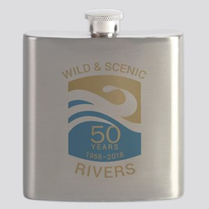 Rivers 50th Flask