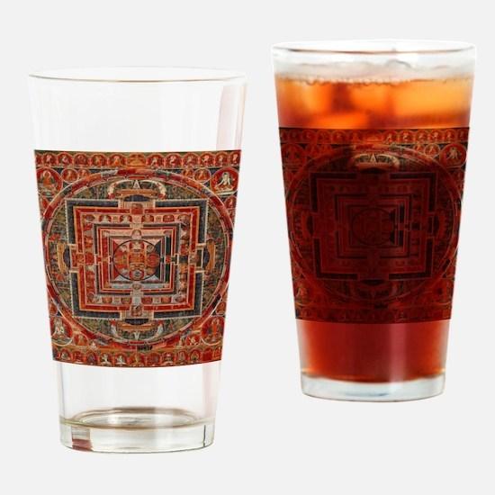 Cute Bodhisattva Drinking Glass