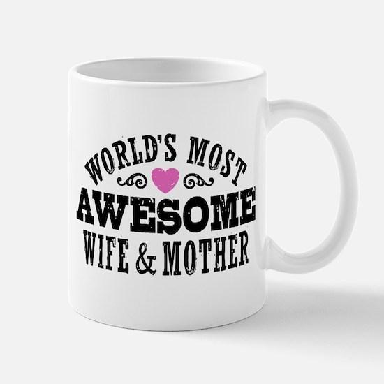 Awesome Wife And Mother Mug